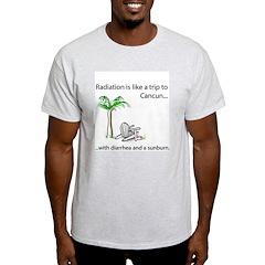 Radiation and Cancun Ash Grey T-Shirt