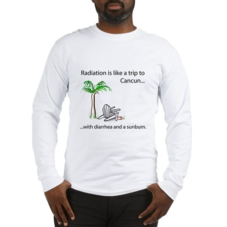 Radiation and Cancun Long Sleeve T-Shirt