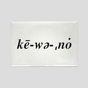 Keweenaw Rectangle Magnet