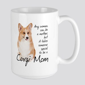 Pembroke Corgi Mom Large Mug