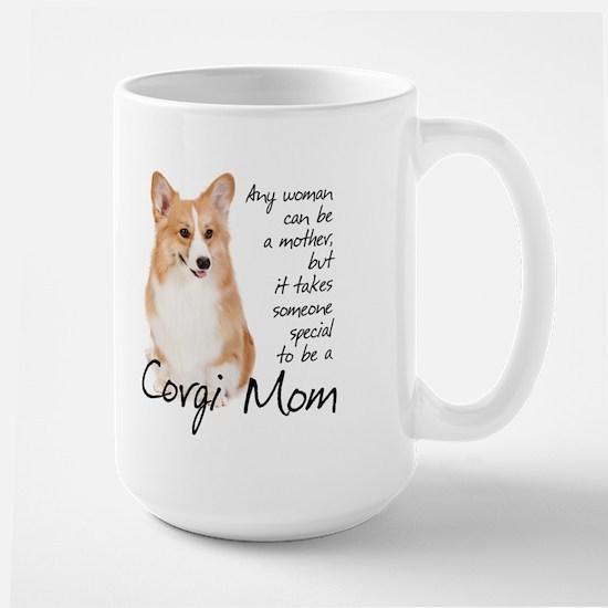 Pembroke Corgi Mom Large Mug
