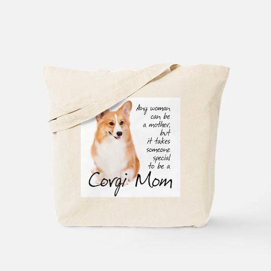 Pembroke Corgi Mom Tote Bag