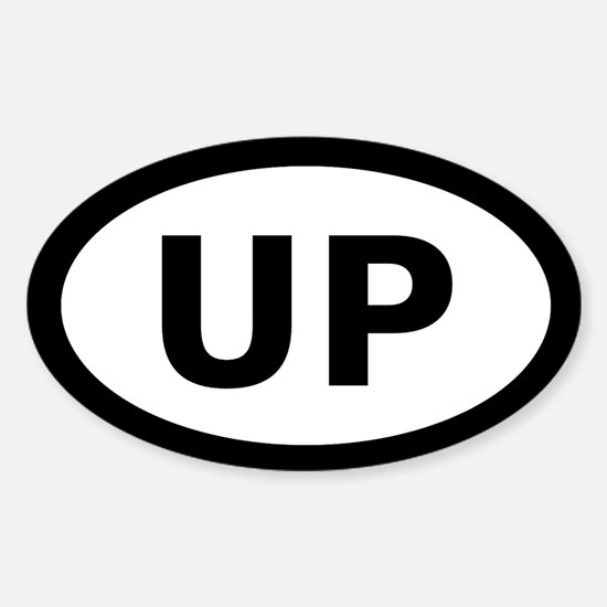 U.P. Oval Decal