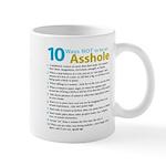 10 Ways Not to be an Asshole Mug