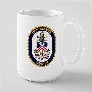 USS Mason DDG 87 Large Mug
