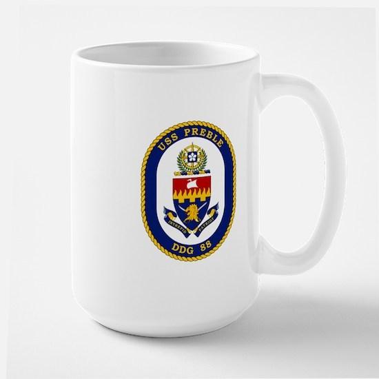 USS Preble DDG 88 Large Mug