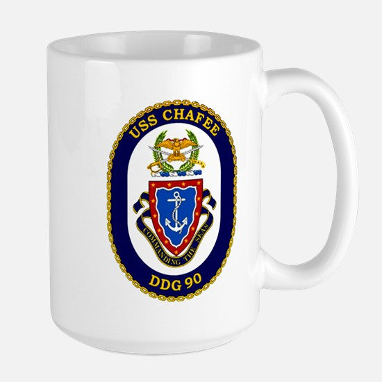USS Chafee DDG 90 Large Mug