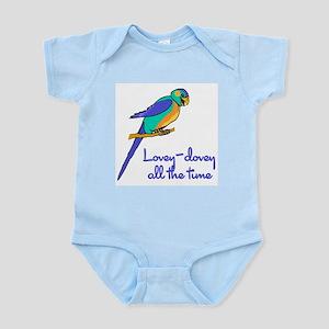 Lovey-Dovey Lovebird Infant Creeper