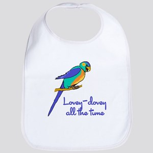 Lovey-Dovey Lovebird Bib