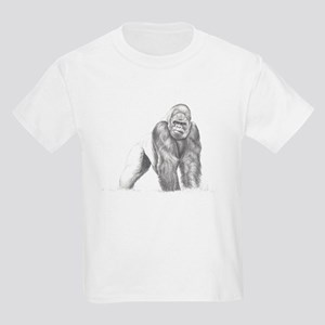 Tatu gorilla portrait Kids Light T-Shirt