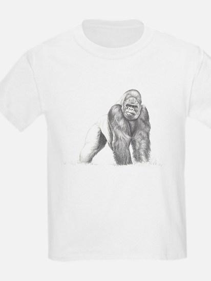 Tatu gorilla portrait T-Shirt