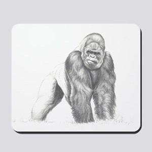 Tatu gorilla portrait Mousepad