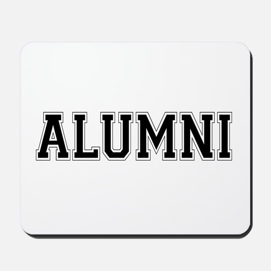 Alumni Black Mousepad