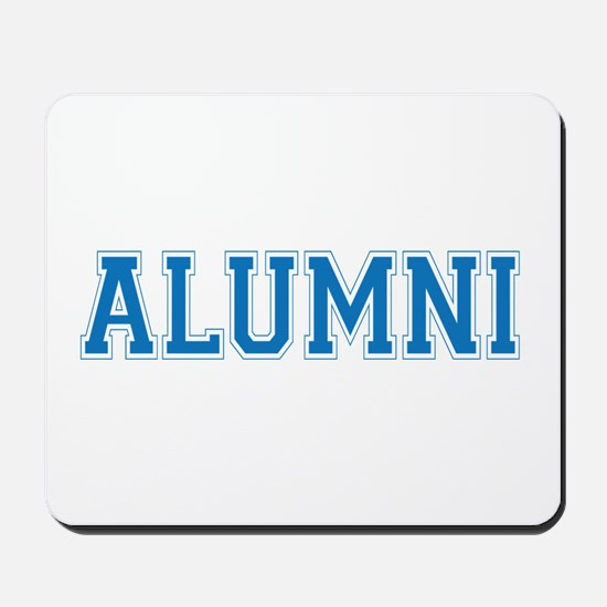 Alumni Blue Mousepad