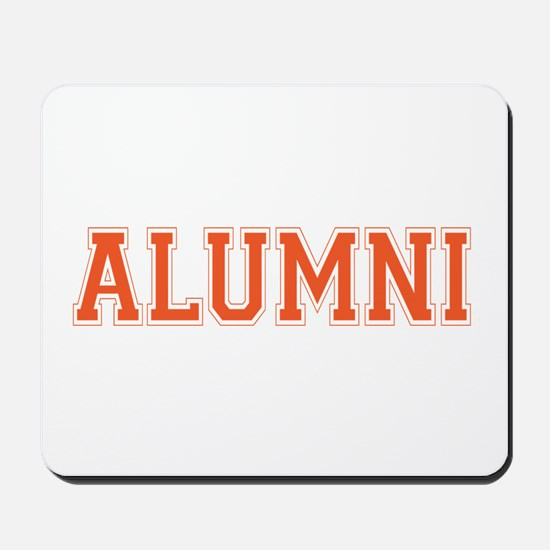 Alumni Orange Mousepad