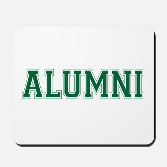 Alumni Green Mousepad