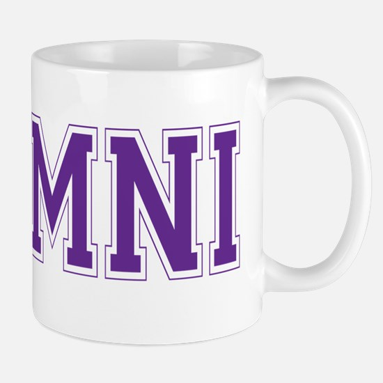 Alumni Purple Mug