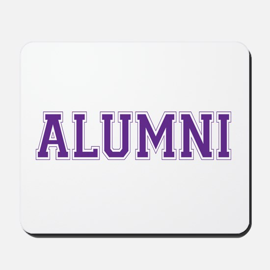 Alumni Purple Mousepad