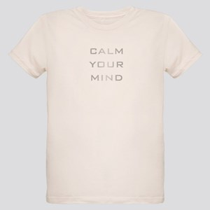 Calm Your Mind Organic Kids T-Shirt