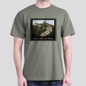 Great Wall Of China Dark T-Shirt