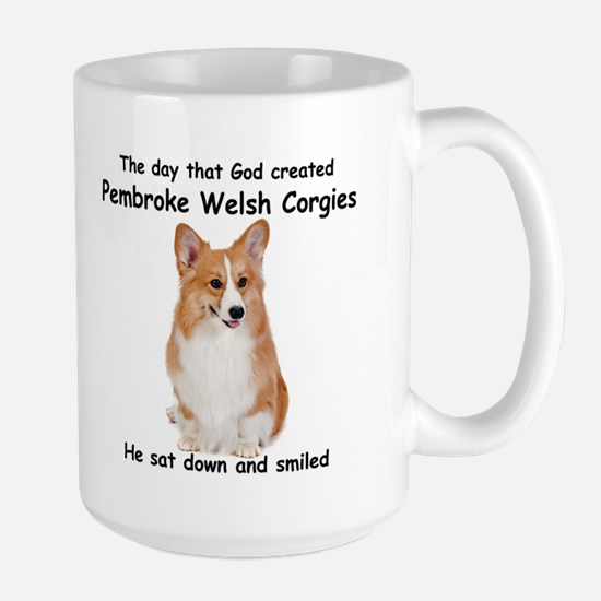 Corgi Large Mug