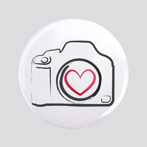 "I Heart Photography 3.5"" Button"