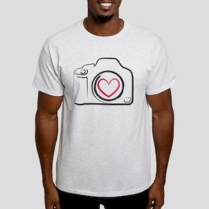 I Heart Photography Light T-Shirt