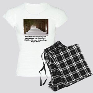 The obstacles of your past c Women's Light Pajamas