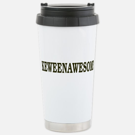 Keweenawesome! Stainless Steel Travel Mug