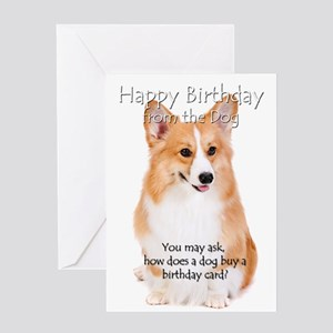From the Corgi Birthday Card