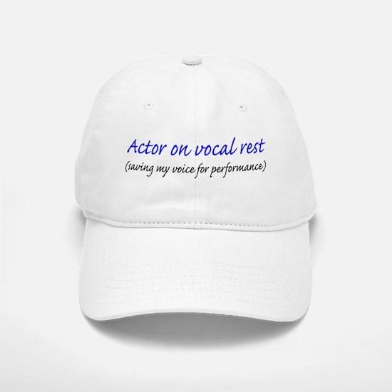 Vocal rest Baseball Baseball Cap