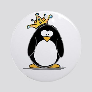 King penguin Ornament (Round)
