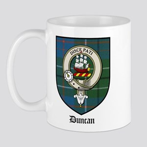 Duncan Clan Crest Tartan Mug