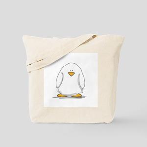 Ghost penguin Tote Bag