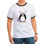 Easter penguin Ringer T
