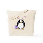 Easter penguin Tote Bag