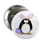 Easter penguin Button