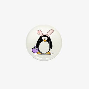 Easter penguin Mini Button