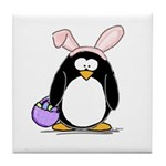 Easter penguin Tile Coaster