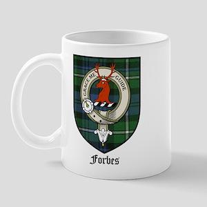 Forbes Clan Crest Tartan Mug