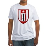 372nd Engineer Fitted T-Shirt