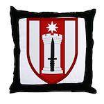372nd Engineer Throw Pillow