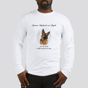 German Shepherd Angel Long Sleeve T-Shirt