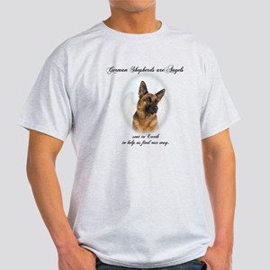German Shepherd Angel Light T-Shirt