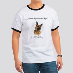 German Shepherd Angel Ringer T