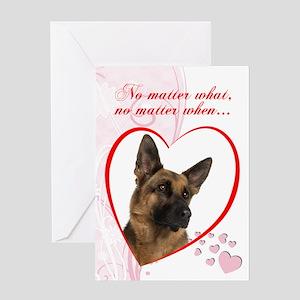 "German Shepherd ""Just Whistle"" Valentine"