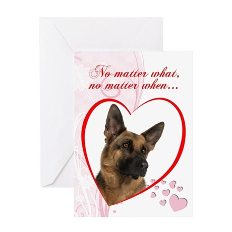 "German Shepherd ""Just Whistle"" Valentine"