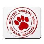 USMC Military Working Dogs Mousepad