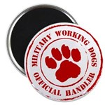 USMC Military Working Dogs Magnet