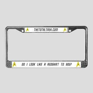 Total Trek License Plate Frame